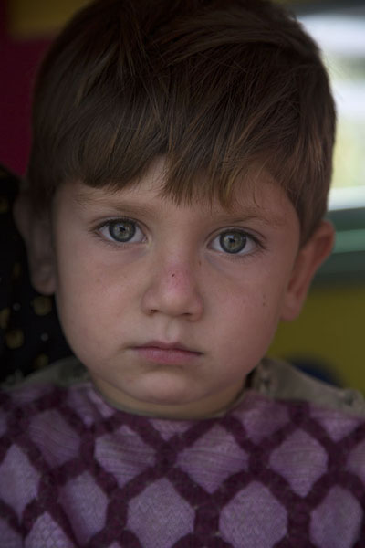 Fair-skinned boy in Herat | Afghani people | Afghanistan
