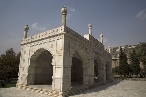 The mosque, commissioned by Shah Jahan | Gardens of Babur | Afghanistan