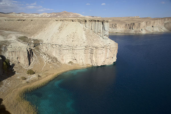The western shoreline of Band-e Zulfiqar | Band-e Amir | Afghanistan