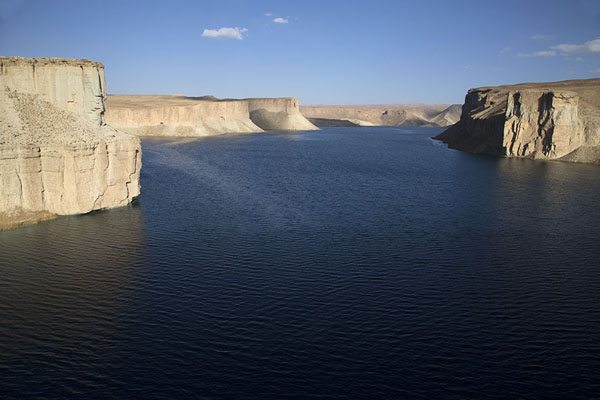 Looking out over deep blue Band-e Zulfiqar | Band-e Amir | Afghanistan