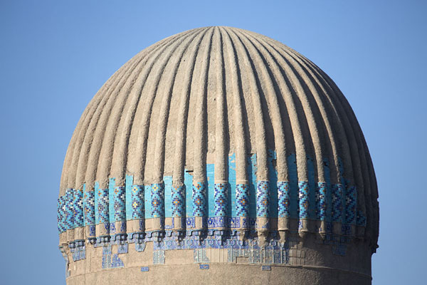 Ribbed dome of the mausoleum of Gowhar Shad | Gowhar Shad Mausoleum | Afghanistan