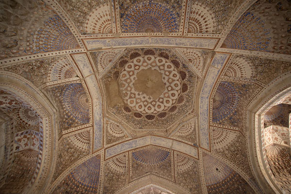 Picture of The ceiling of the mausoleum of Gowhar ShadHerat - Afghanistan