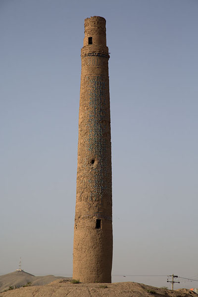 Picture of Tall minaret of the Musalla complex, which lost most of its decorative elements - Afghanistan - Asia