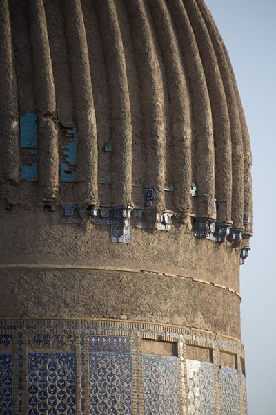 Close-up of the dome of the mausoleum of Gowhar Shad | Gowhar Shad Mausoleum | Afghanistan