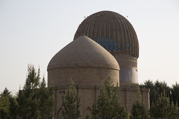 The domes of the tombs of Gowhar Shad and Mir Ali Shir Nawai | Gowhar Shad Mausoleum | Afghanistan