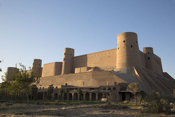 Late afternoon view of the citadel of Herat | Herat Citadel | Afghanistan