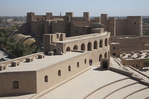 View over the citadel from the top of Malik Tower | Herat Citadel | Afghanistan