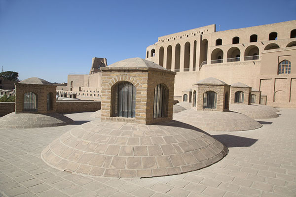 Picture of View of the citadel from the roof of the former barracksHerat - Afghanistan
