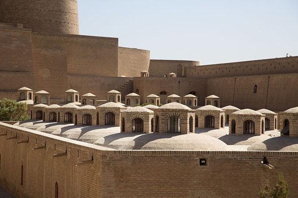 Former barracks in the citadel | Herat Citadel | Afghanistan