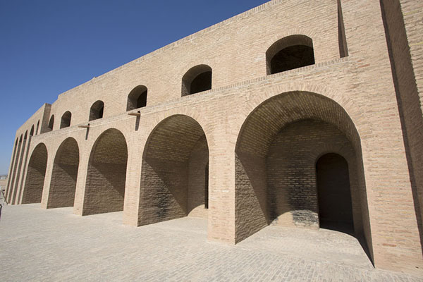 Picture of Wall with arches in the citadel