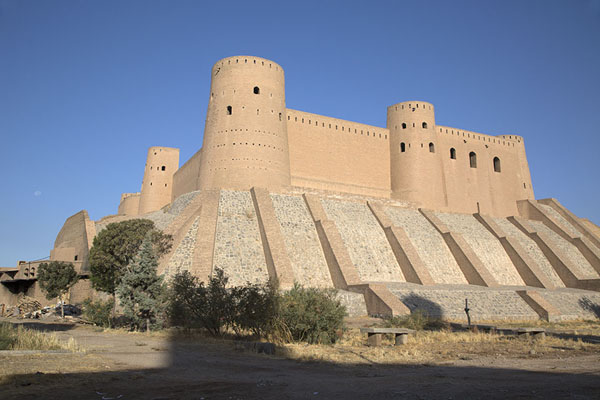 The citadel seen from the east in the early morning | Herat Citadel | Afghanistan