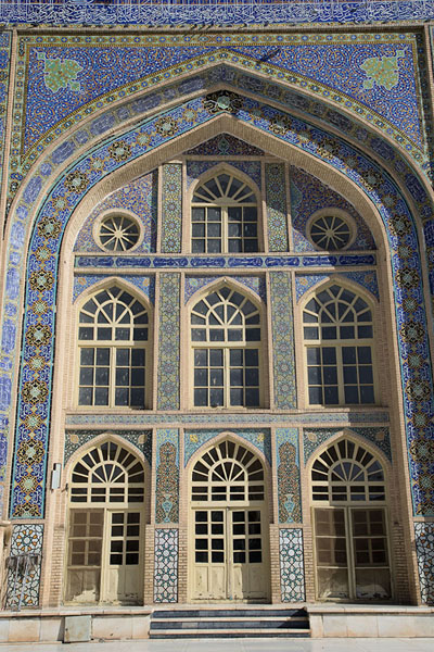 Main arch in the northern wall of the mosque | Herat Jama Masjid | Afghanistan