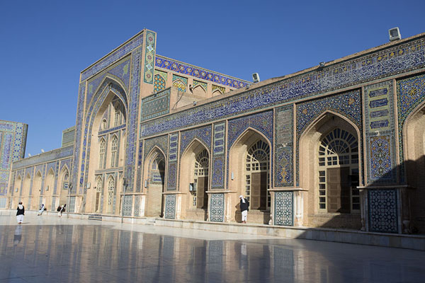 Picture of The northern wall of the mosqueHerat - Afghanistan