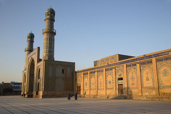 Picture of Side view of the eastern entrance of the Friday Mosque of Herat - Afghanistan - Asia
