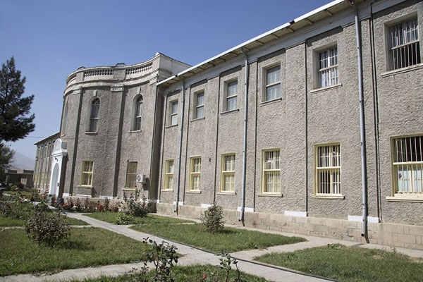 The museum seen from the outside | Museo de Kabul | Afghanistán