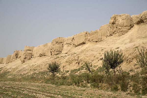 The old city wall of Balkh still stands | Old Balkh | 阿富汗