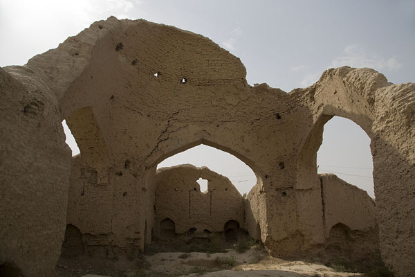 Ruins of the house of Jalal ad-Din Muhammad Balkhi, better known as Rumi | Vecchia Balkh | Afghanistan