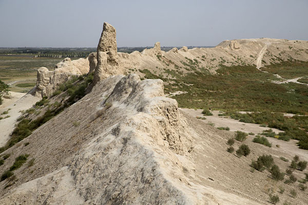 Ruins of the wall of the citadel of Balkh - 阿富汗 - 亚洲