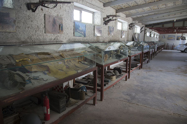 Inside view of the museum | OMAR mine museum | Afghanistan