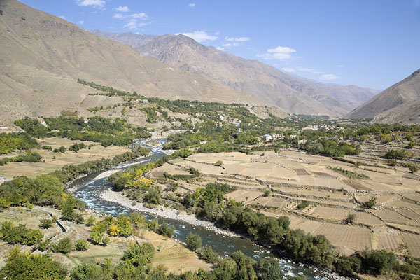 Looking out over the Panjshir valley | Panjshir Valley | Afghanistan