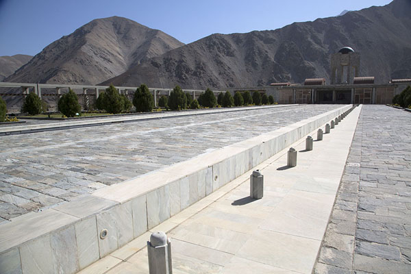The mausoleum of Massoud | Panjshir Valley | Afghanistan