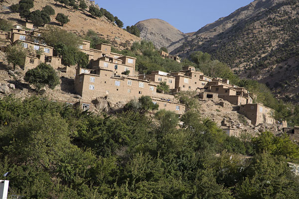 Village on the slopes of Panjshir valley | Panjshir Valley | Afghanistan