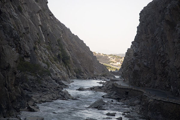 Picture of The narrow southern entrance of the Panjshir valley - Afghanistan - Asia