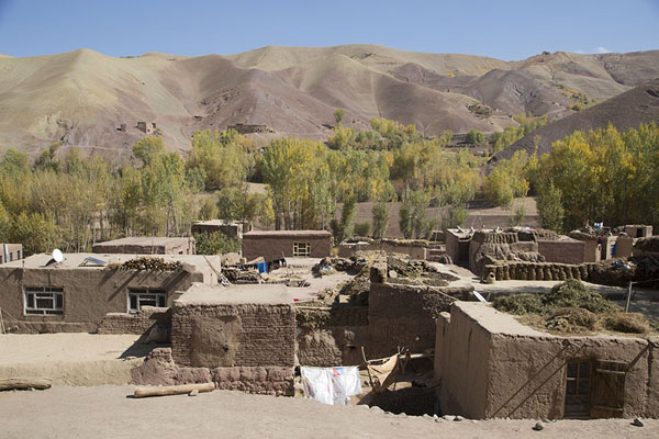 One of the many villages in Qazan valley | Valle di Qazan | Afghanistan