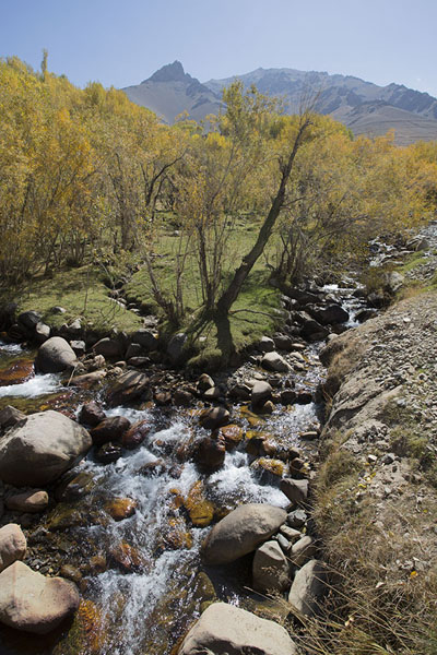 Two rivers joining in Qazan valley | Qazan Valley | Afghanistan