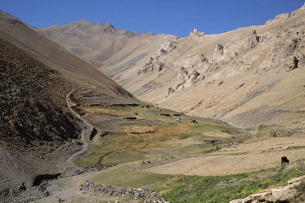 Picture of Qazan Valley (Afghanistan): Higher part of Qazan valley