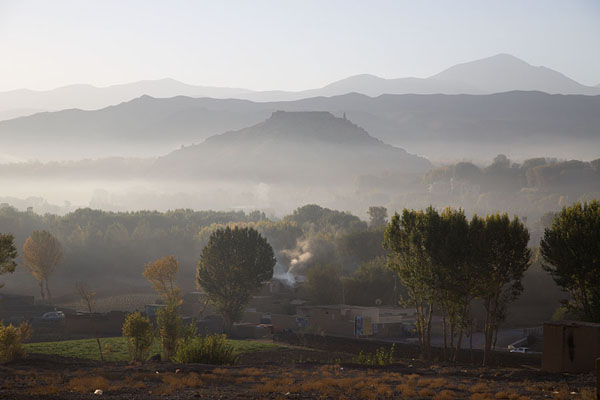 Photo de Early morning view of the City of ScreamsBamiyan - Afghanistan