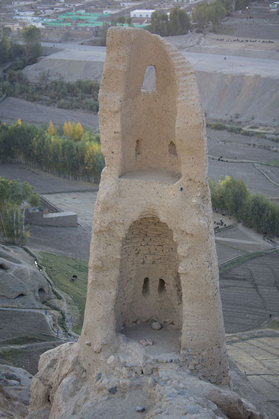 Picture of One of the towers of Shahr-e-Gholgola
