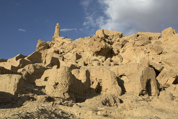 Photo de Ruins of Shahr-e-Gholgola, of City of Screams, destroyed by Genghis Khan - Afghanistan - Asie