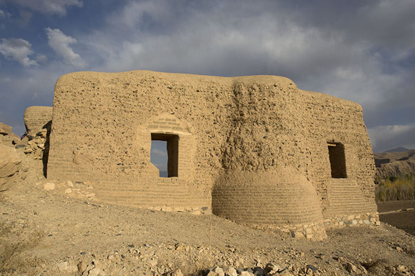 Photo de Ruins of the mosque of the City of ScreamsBamiyan - Afghanistan
