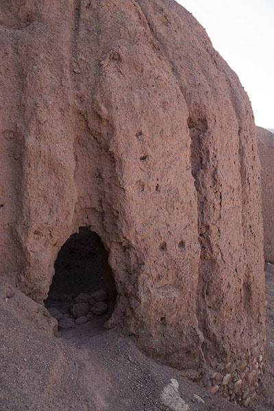 Detail of a building of the Red City | Shahr-e-Zohak | Afghanistan