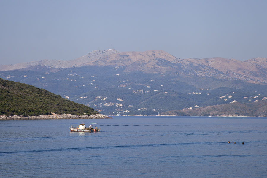 Picture of Corfu is just across the narrow strait at Ksamil