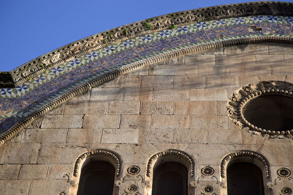Detail of the side of Djemaa Ketchoua | Algiers Casbah | Algeria