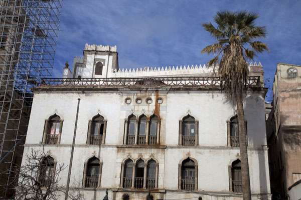Frontal view of the Dar Hassan Pasha in the lower Casbah | Algiers Casbah | Algeria