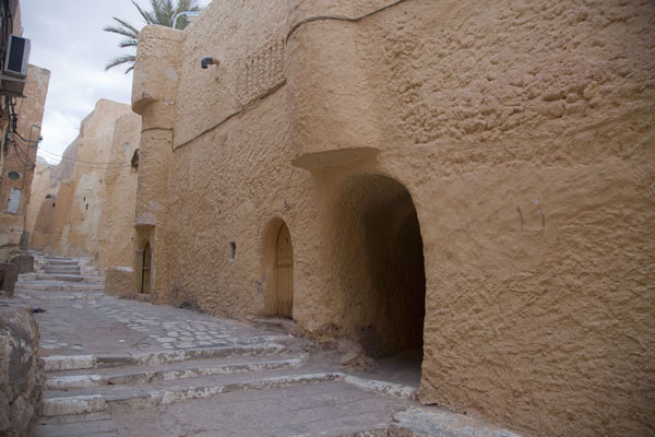 Side view of the mosque of Beni Isguen | Beni Isguen | Algeria