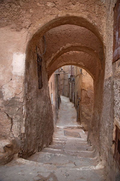 Arches over one of the alleys of Beni Isguen | Beni Isguen | Algeria