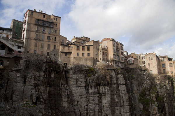 Buildings on the canyon of the Rhumel river | Constantine | Algeria