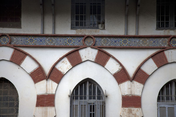 Close-up of decorated house in Constantine | Constantine | Algeria