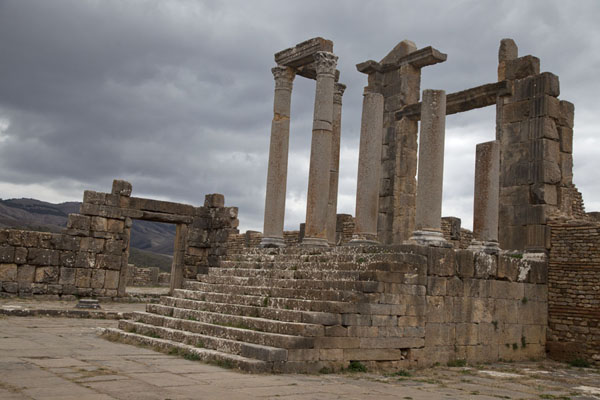 Picture of Djemila (Algeria): Ruins of the Temple of Venus