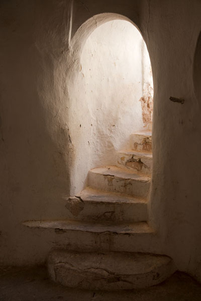 Stair leading to the floor of the Sidi Brahim mosque | El Atteuf | Algeria