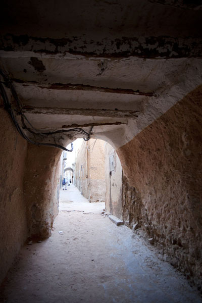 One of the many thoroughfares in the old town of El Atteuf | El Atteuf | Algeria