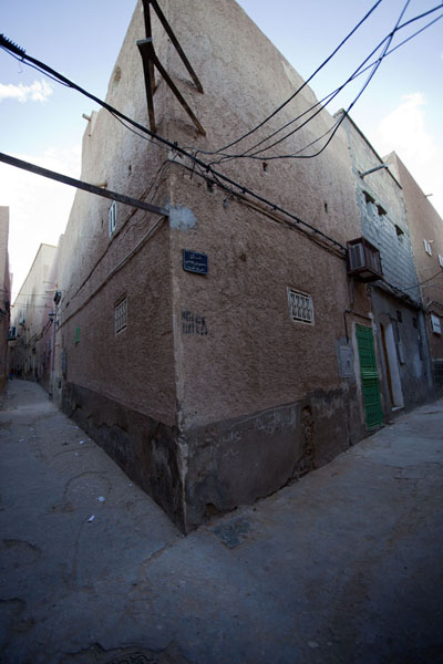 Picture of Corner of two alleys in the old town of El Atteuf