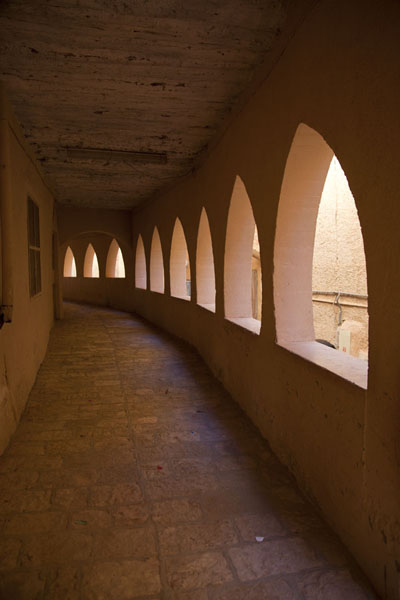 Foto van Gallery in the old town of GhardaïaGhardaïa - Algerije