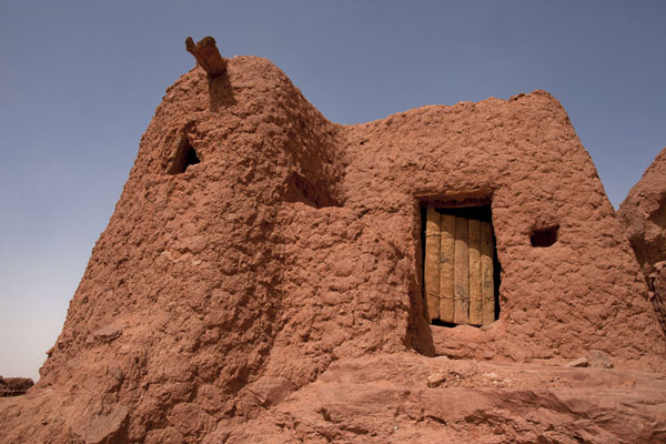 Adobe house in Ighzer | Sebkha Circuit | Algeria