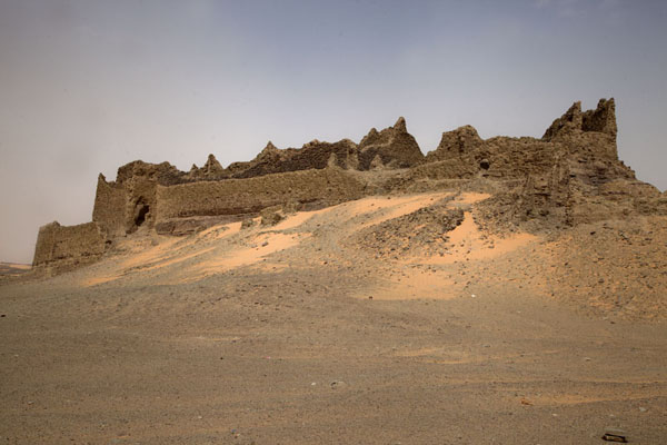 Picture of Ruined and abandoned ksar in the middle of nowhereTimimoun - Algeria