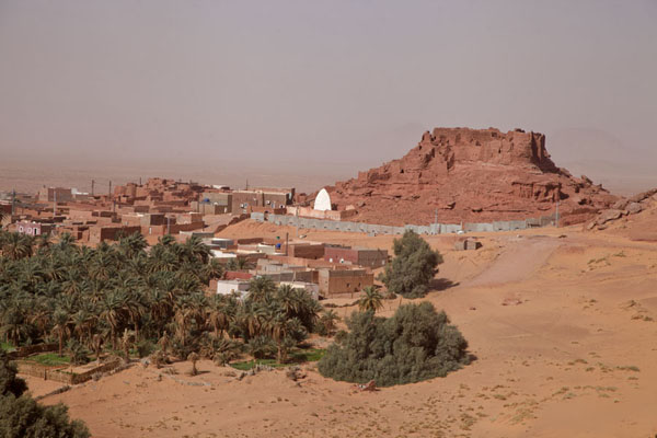 The old village of Ighzer seen from a distance | Sebkha Circuit | Algeria